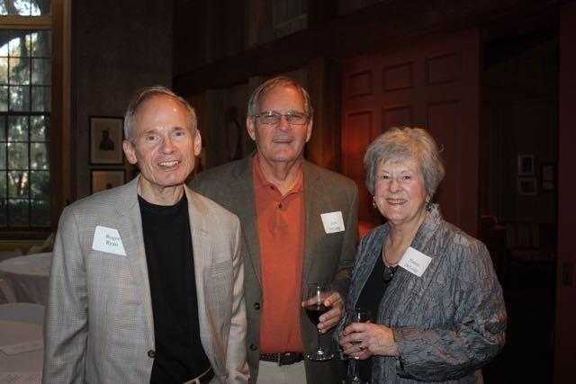 Roger Ryan, Jim and Nancy DeLong