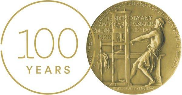 CentennialMarkwithPulitzer Medal.jpg