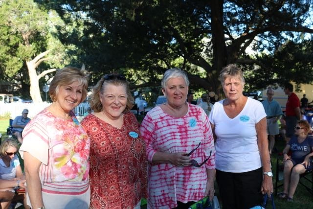 Jan Lemasters, Joy Alexander, Donna Grayson, Gail Rudd