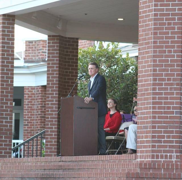 Guest speaker Sen. David Purdue
