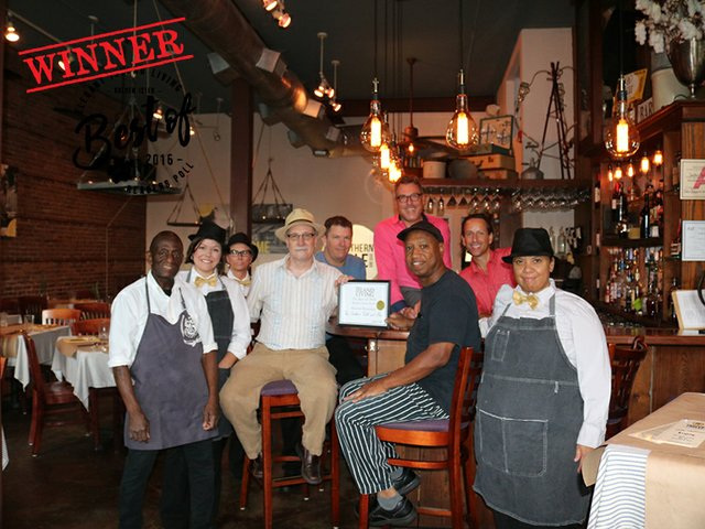 The Southern Table - Best Mainland Restaurant
