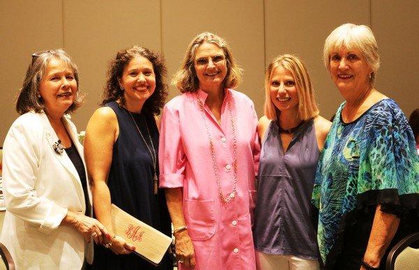 Dorothy Kubat, Betsy Albright, Dawn Hart, Stacy Bovinet, Carolyn Hall