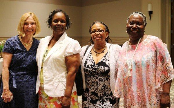 Lorene Reid, Shirley Gibbs, Pauline Watkins, Margaret Gant