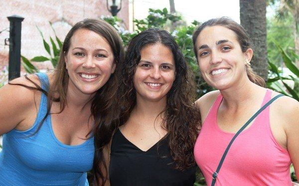 Jessica Thompson, Ashley Raybould, Lisa Rodriguez