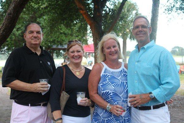 Wayne and Ann Martin, Kim and Alan Worthley