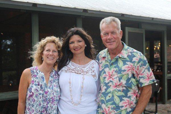 Jennifer Hinson, Sandy Jones, Greg Carver