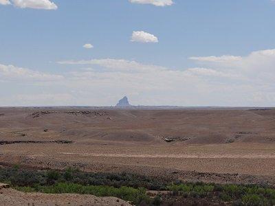 Shiprock - 40 miles away