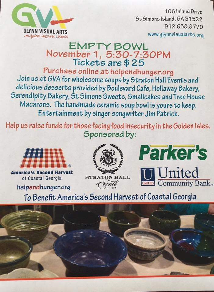 Empty Bowl Fundraiser To Benefit America 39 S Second Harvest