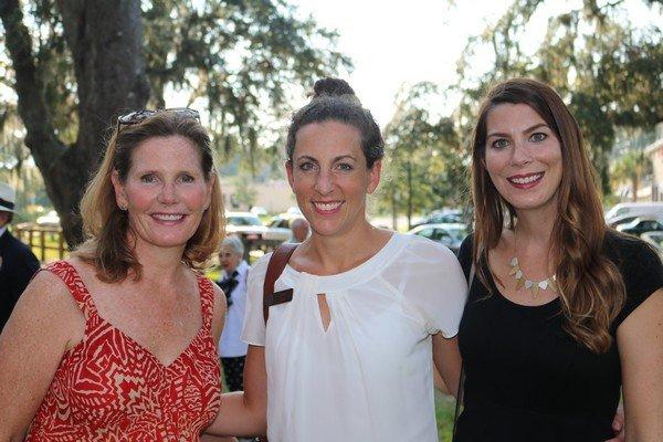 Ann Pequigney, Anna Hall, Sara Baker