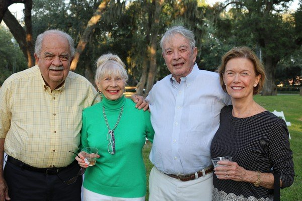 George and Jackie Patelidas, Charles and Jean McKnight