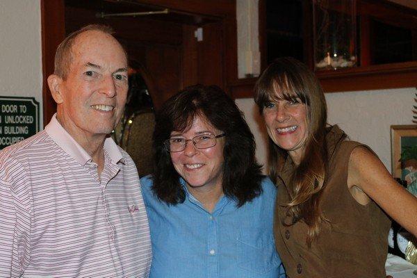 Bob Reid, Sarah Ridgeway, Jennifer Appleton