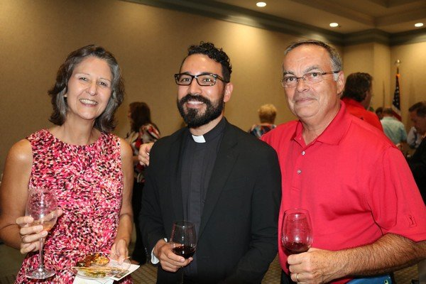 Myra Lamoureux, Father Chris Ortega, Robert Lamoureux