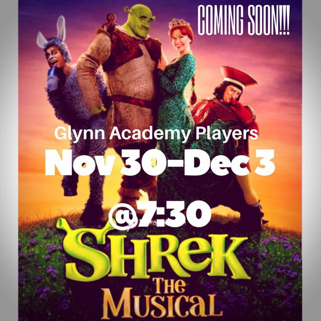 GA Players Shrek the Musical