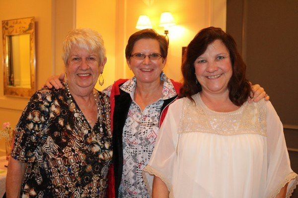 Mary Mailhos, Beth Cain, Josephine Braddy