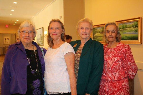 Elizabeth Garrett, Doris Forrest, Barbara Carlile, Valene McGrath