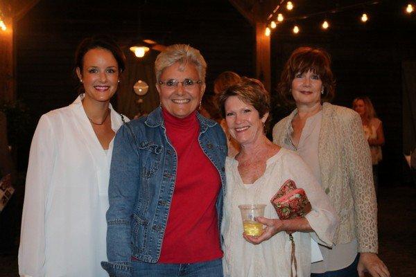 Caroline Dorminy, Dianne Smoot, Cindy Lanyon, Rhonda Hand