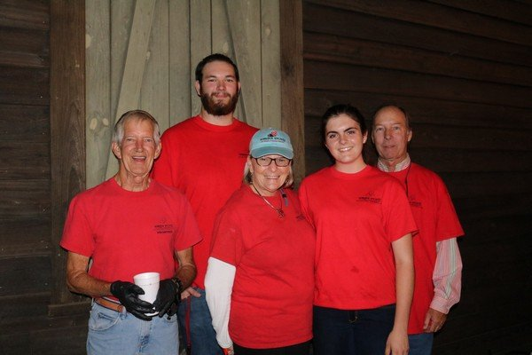 Humane Society volunteers