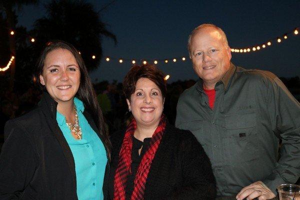 Catherine Lecrone, Trish and Patrick Layton