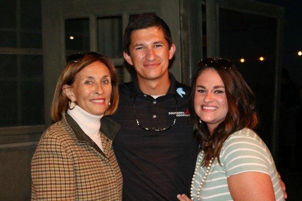 Ellen Dunn, Paulo and Dawn Albuquerque