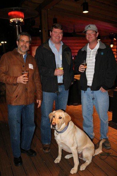 Duke Royer and Bruno, Vick Tollison, Chris Allen