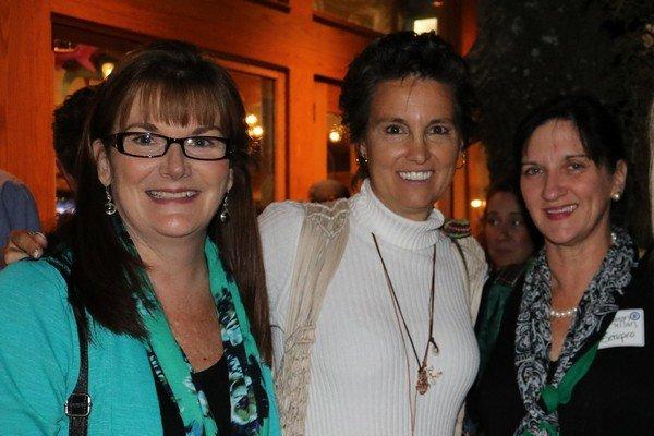 Patti Rogers, Gena Churchwell, Sharon McClellan