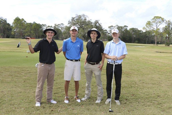 Frederica Academy Team: Joe Levitan, Thomas Hogan, Ryan McHugh, Jack O'Hara