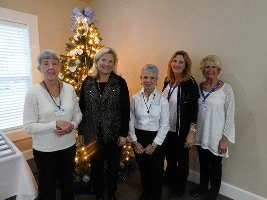 Bev Bilderback, Helen Billings, Ann Granger, Donna Maxwell, Judy Burch