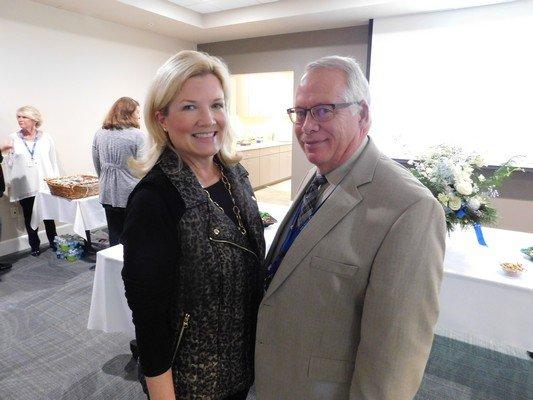 Helen Billings, Dr. John Shaner