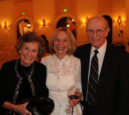 Joyce Ledingham, Lorene Reid, Al Ledingham