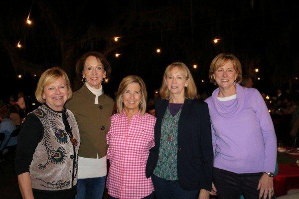 Janet Higginbotham, Gayle Brown, Connie Williams, Harriet McEwan, Joan Hearn