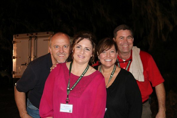 David and Ann Marie Anderson, Tanya and Mike Poillucci