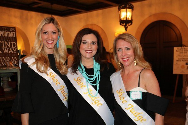 Shoe Judges Erica Torras, Jessica Cannon, Catherine Slade