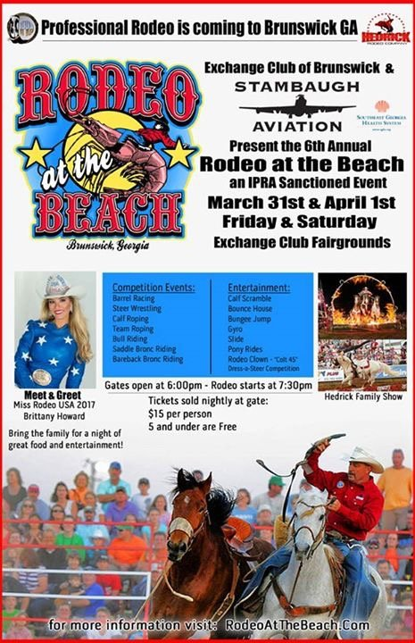 Rodeo at the Beach 2017
