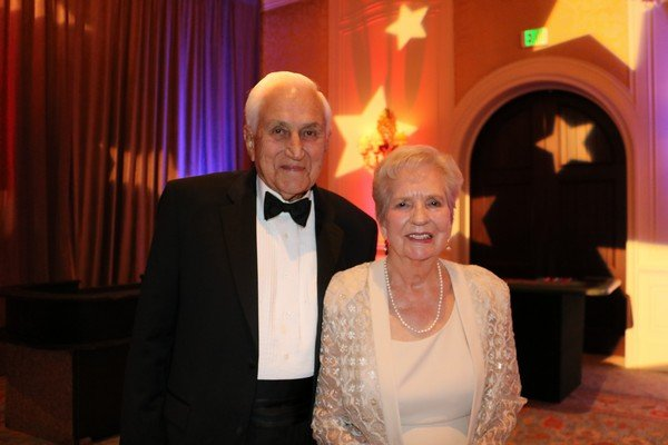 Jim and Louise Atwood (celebrating their 68th anniversary!)