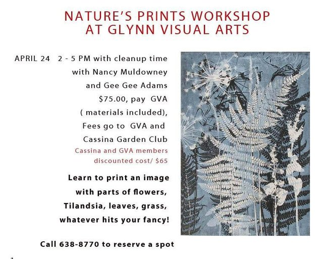Nature's Prints Workshop