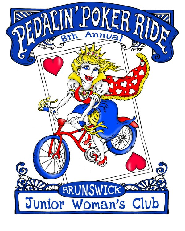 BJWC Pedalin Poker Run 2017 EH