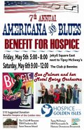 Americana and Blues Benefit for Hospice