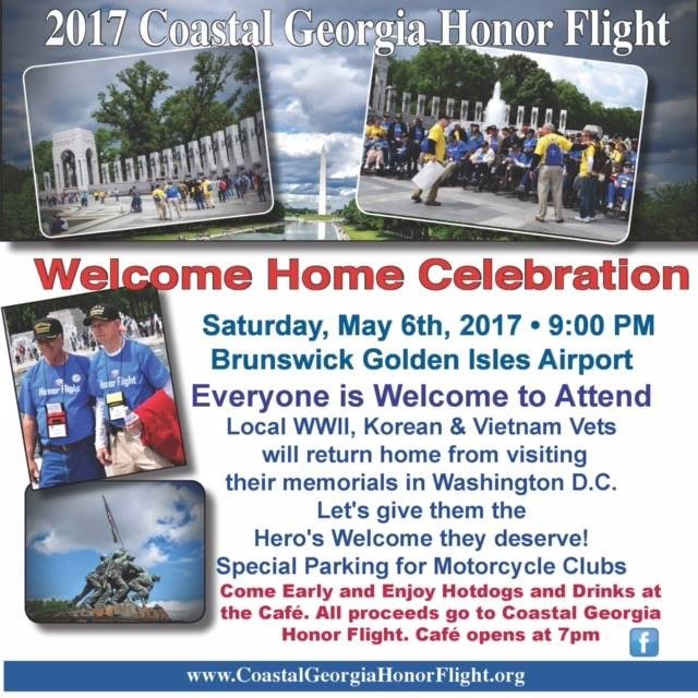 Honor Flight 2017 Welcome Home Celebration