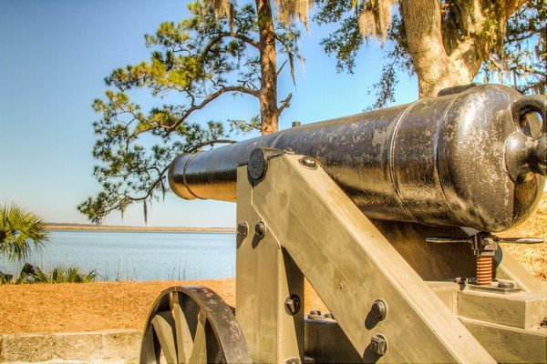 Fort McAllister Cannon