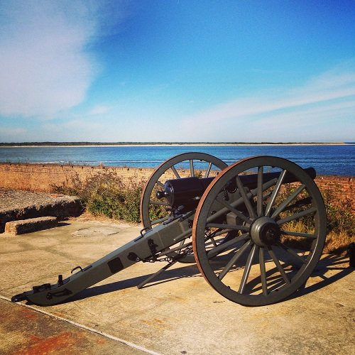 Fort Clinch Cannon