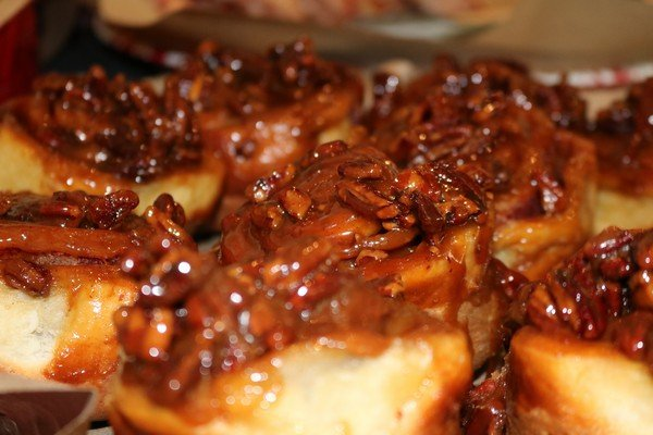Pecan Toffee Sticky Buns