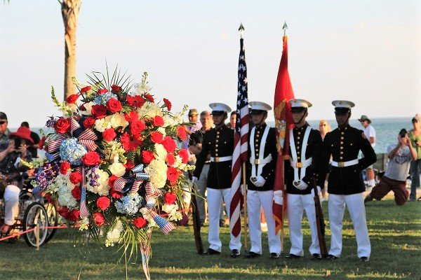 Taps at Twilight 2016 wreath color guard.jpg