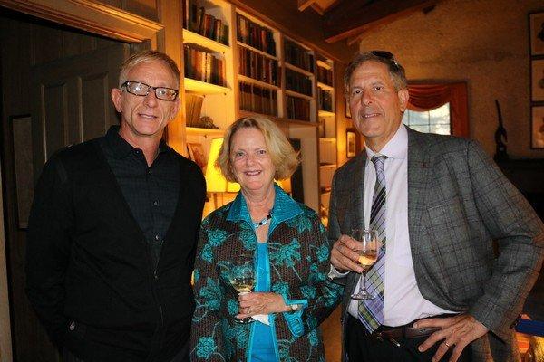 John Hartland, Ann and Carmen Talarico