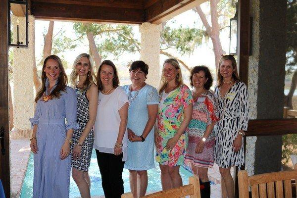 Lauren Hopkins, Bonnie Turner, Julie Lovein, Sandi Channell, Jennifer Wall, Janet Brown, Meady Watkins
