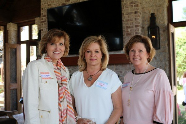 Bess Thompson, Wendy Capes, Donna Godbey