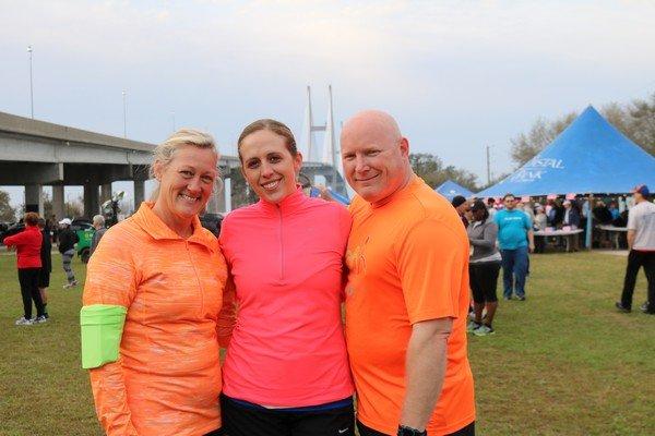 Kathy Lang, Ashton and Chris Earnhardt