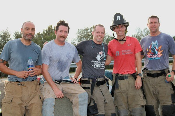 Members of the Bluffton Fire Department