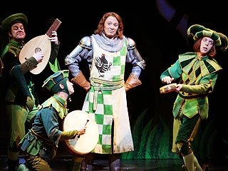 Evening in Spamalot