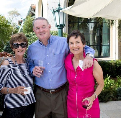 Barbara Browne, Ken Thomas, Linda Olsen