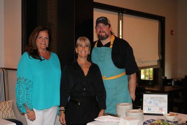 Kalista Morton, Landon Moorhead, Chef Tim Lensch